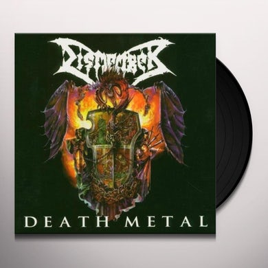 Dismember DEATH METAL Vinyl Record