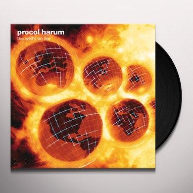 Procol Harum WELL'S ON FIRE Vinyl Record