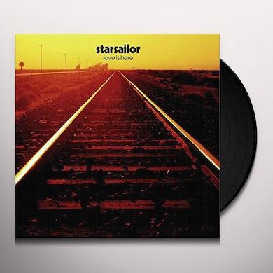 Starsailor LOVE IS HERE Vinyl Record