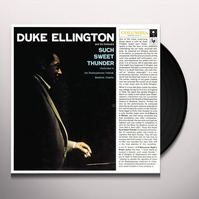 Duke Ellington SUCH SWEET THUNDER Vinyl Record - 180 Gram Pressing