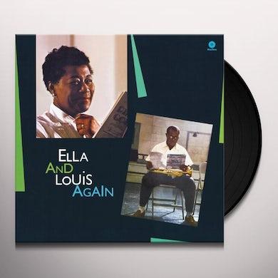 Ella Fitzgerald ELLA & LOUIS AGAIN Vinyl Record - 180 Gram Pressing