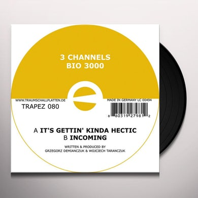 3 Channels BIO 3000 Vinyl Record