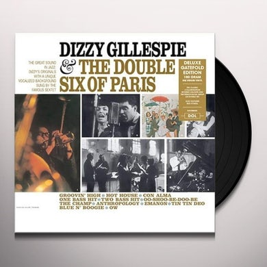 DIZZY GILLESPIE & THE DOUBLE SIX OF PARIS Vinyl Record