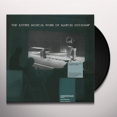ENTIRE MUSICAL WORK OF MARCEL DUCHAMP Vinyl Record