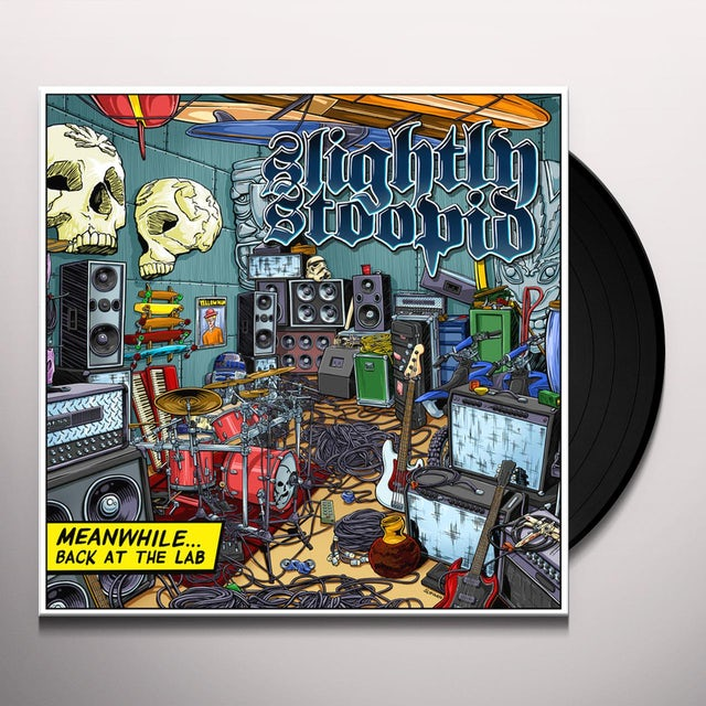 Slightly Stoopid MEANWHILE BACK IN THE LAB Vinyl Record