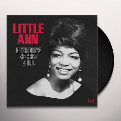 Little Ann DETROIT'S SECRET SOUL Vinyl Record