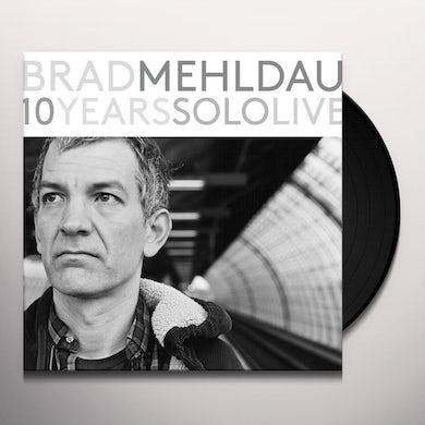 Brad Mehldau 10 YEARS SOLO LIVE (BOX) Vinyl Record