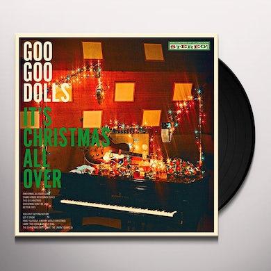Goo Goo Dolls IT'S CHRISTMAS ALL OVER Vinyl Record
