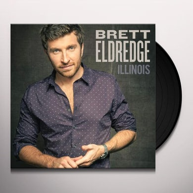 Brett Eldredge ILLINOIS Vinyl Record
