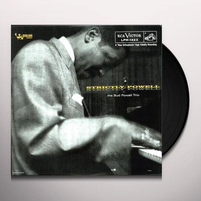 Bud Powell STRICTLY POWELL Vinyl Record