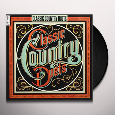 Classic Country Duets / Various Vinyl Record