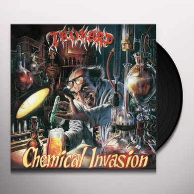 Tankard CHEMICAL INVASION Vinyl Record
