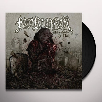 Facebreaker DEDICATED TO THE FLESH Vinyl Record