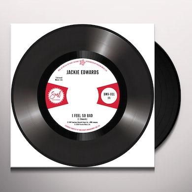 Jackie Edwards / Del Davis I FEEL SO BAD / BABY DON'T WAKE ME Vinyl Record