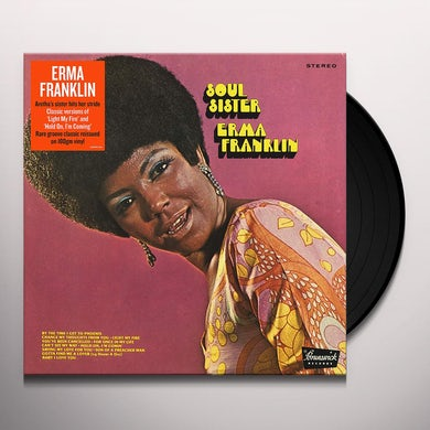 Erma Franklin SOUL SISTER Vinyl Record
