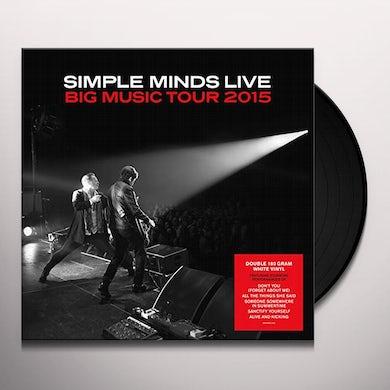 Simple Minds BIG MUSIC TOUR 2015: LIVE Vinyl Record