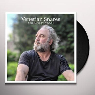 Venetian Snares GREG HATES CAR CULTURE Vinyl Record