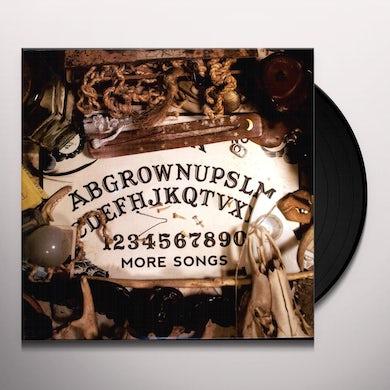 Grown Ups MORE SONGS Vinyl Record
