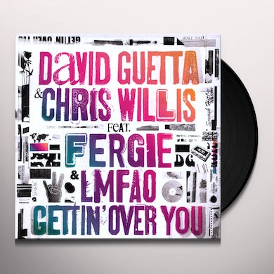 David Guetta GETTIN OVER YOU Vinyl Record