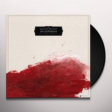 Keaton Henson SIX LETHARGIES Vinyl Record