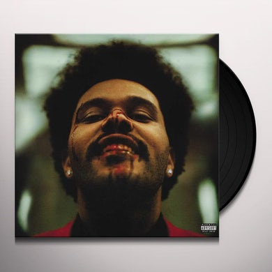 The Weeknd After Hours (2 LP) (Clear w/ Red Splatter) Vinyl Record