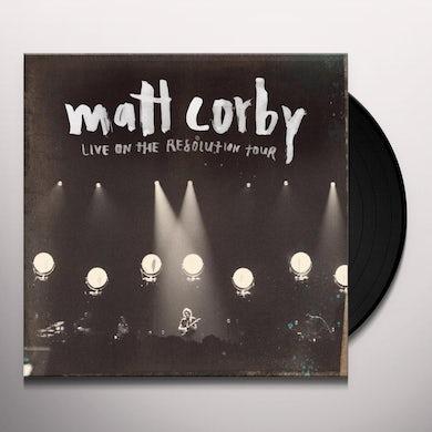 Matt Corby LIVE ON THE RESOLUTION TOUR EP (AUS) (Vinyl)