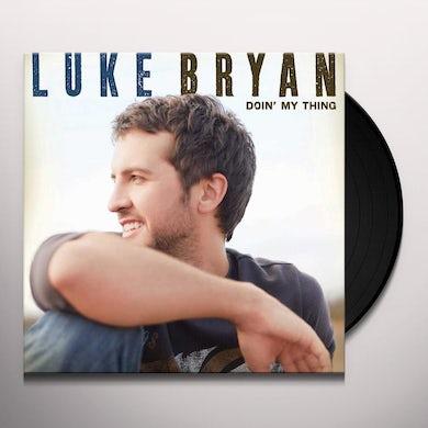Luke Bryan DOIN MY THING Vinyl Record
