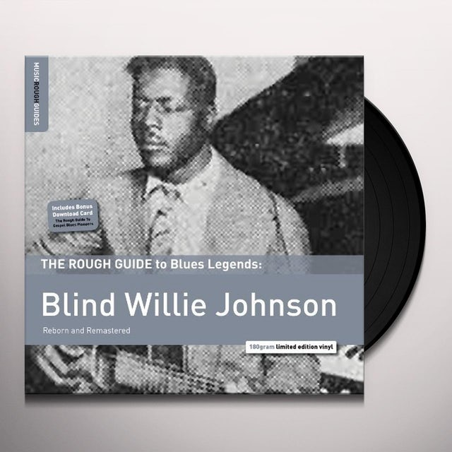 ROUGH GUIDE TO BLIND WILLIE JOHNSON Vinyl Record