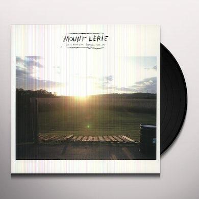 Mount Eerie LIVE IN BLOOMINGTON SEPTEMBER 30TH, 2011 Vinyl Record