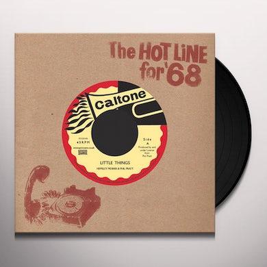 Hemsley Morris / Phil Pratt LITTLE THINGS Vinyl Record