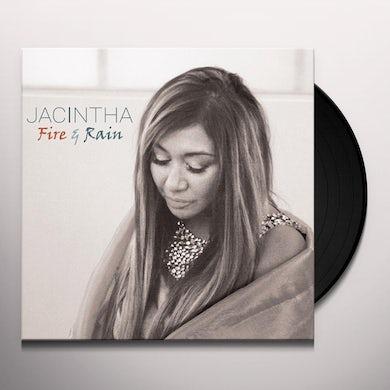 Jacintha Fire & Rain Vinyl Record