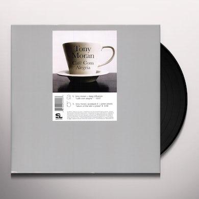 Tony Moran CAFE COM ALEGRIA / RETURN TO THE LATIN X Vinyl Record