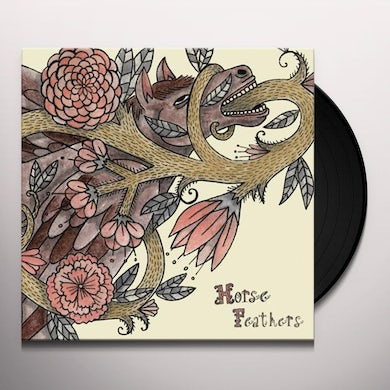 Horse Feathers WORDS ARE DEAD Vinyl Record