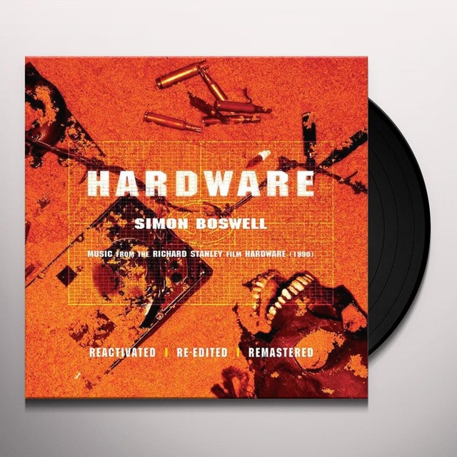 Simon (Ltd) Boswell HARDWARE / O.S.T. Vinyl Record