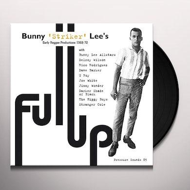 Bunny Lee  FULL UP Vinyl Record