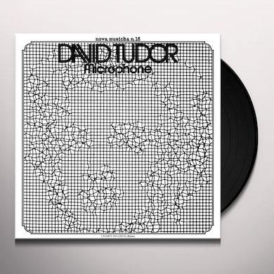 David Tudor MICROPHONE Vinyl Record