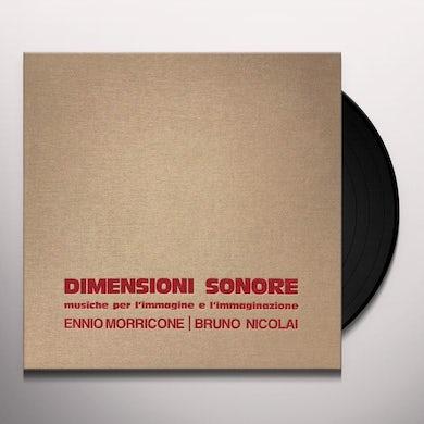 Ennio Morricone / Bruno Nicolai DIMENSIONI SONORE / Original Soundtrack Vinyl Record
