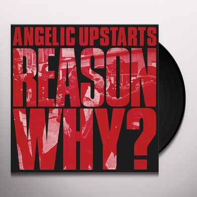 Angelic Upstarts REASON WHY Vinyl Record