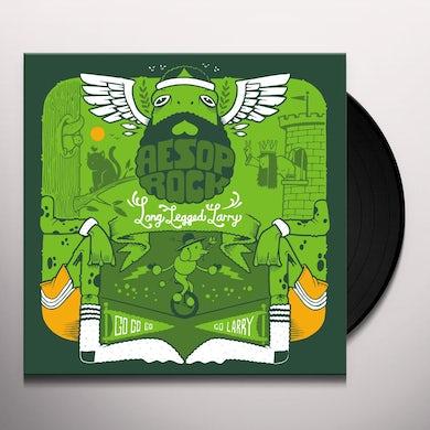 "Aesop Rock LONG LEGGED LARRY (GREEN 7"") Vinyl Record"