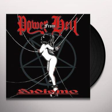 POWER FROM HELL SADISMO Vinyl Record