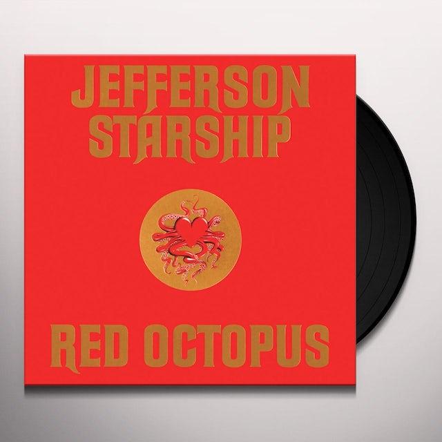 Jefferson Starhsip RED OCTOPUS Vinyl Record