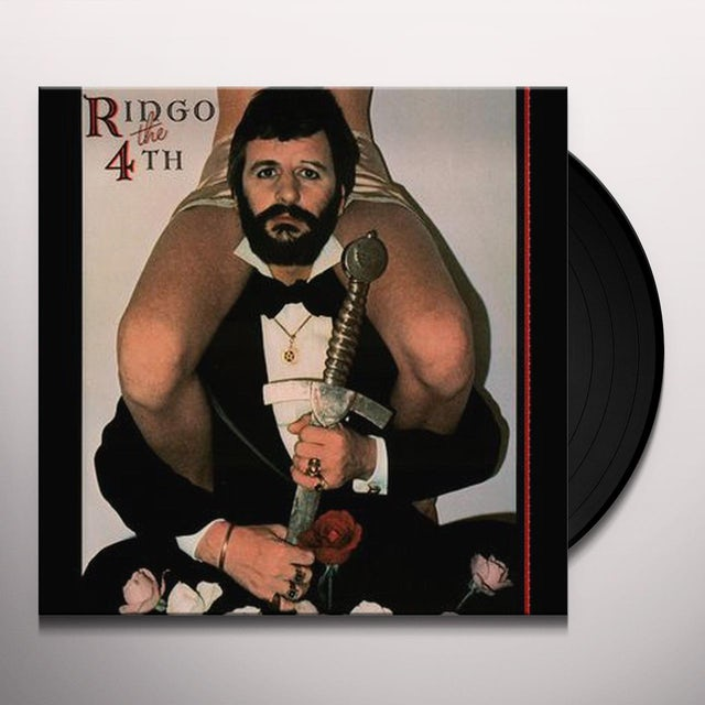 Ringo Starr RINGO THE 4TH Vinyl Record