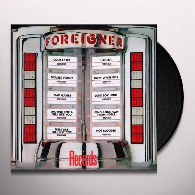 Foreigner RECORDS-GREATEST HITS Vinyl Record
