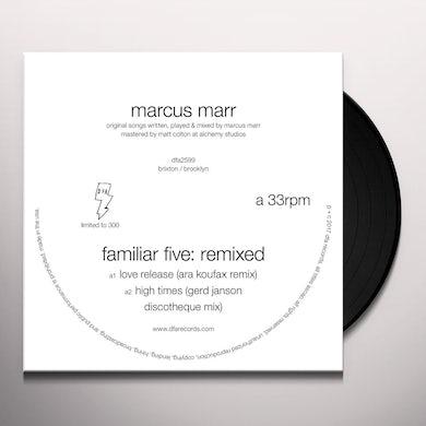 Marcus Marr FAMILIAR FIVE: REMIXED Vinyl Record