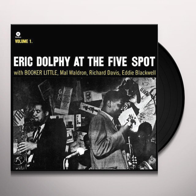 Eric Dolphy / Booker Little AT THE FIVE SPOT 1 Vinyl Record