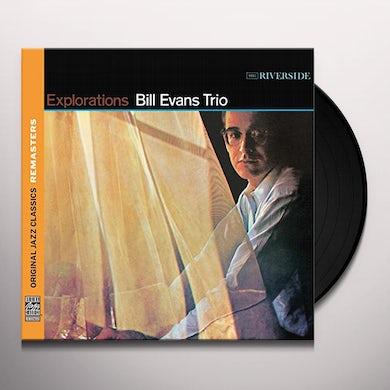 Bill Evans EXPLORATIONS (BONUS TRACK) Vinyl Record - 180 Gram Pressing