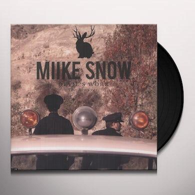 Miike Snow DEVIL'S WORK REMIXES Vinyl Record