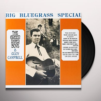 Green River Boys / Glen Campbell BIG BLUEGRASS SPECIAL Vinyl Record