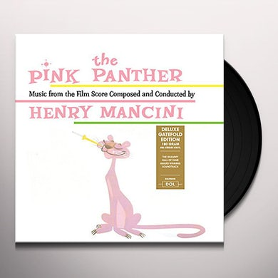PINK PANTHER / Original Soundtrack Vinyl Record