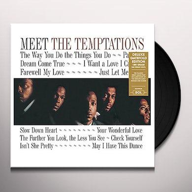MEET THE TEMPTATIONS: EARLY SINGLES & B-SIDES Vinyl Record